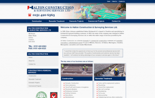 Halton Construction and Surveying Services - Widnes, Cheshire