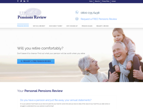 UK Pensions Review Lead Generation